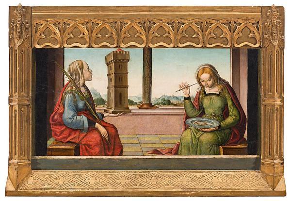 Resultado de imagen de Santa lucia pinturas