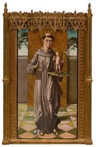 San Antonio de Padua (Maestro de Astorga)