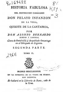 Portada del libro D. Quixote